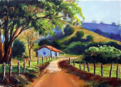 imagenes artisticas rurales obra de arte un camino en un paisaje buc 243 lico artistas y