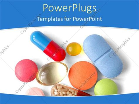 Powerpoint Template Various Capsules And Pills With White Background 19801 Pills Powerpoint Template