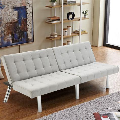 futon room giantex modern living room furniture split back futon sofa