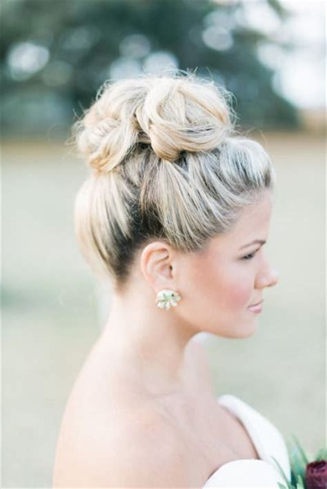 30 top knot bun wedding hairstyles that will inspire with tutorial deer pearl flowers