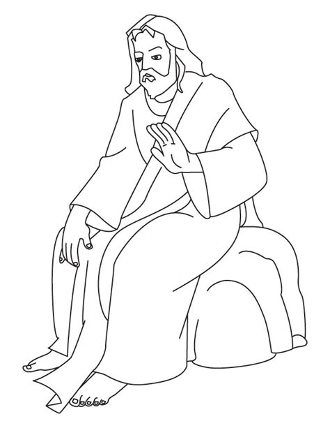 Free Coloring Pages Of Jesus Coloring Page Of Jesus