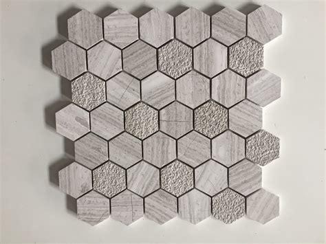 fliese hexagon gro 223 handel fliesen sechseck grau kaufen sie die besten