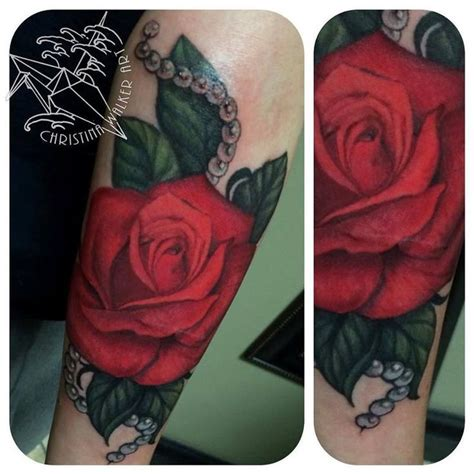cf rose tattoo by walker a pretty with