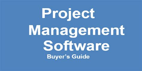 Mba Project Management Uk by Guide To Purchasing Project Management Software