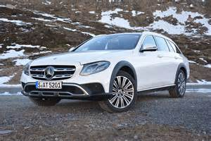 Mercedes All Drive 2017 Mercedes E Class All Terrain