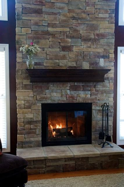 fireplaces and wood mantels traditional family