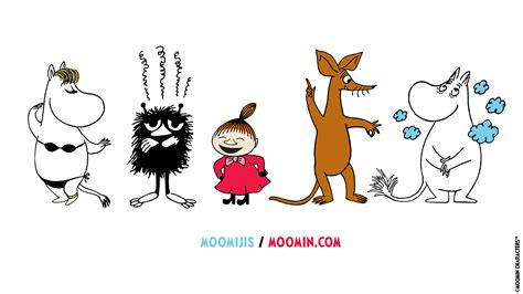 How about some Moomin wallpapers featuring Moomijis