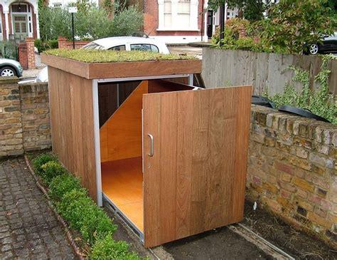 build  bike storage shed home design garden