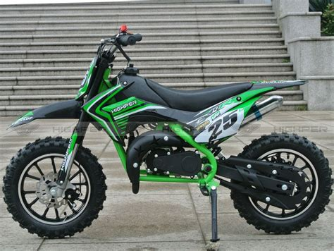 50ccm Motorrad Bausatz by Dirtbike 50ccm Cross Bike 2 Takt 10 Zoll Inkl