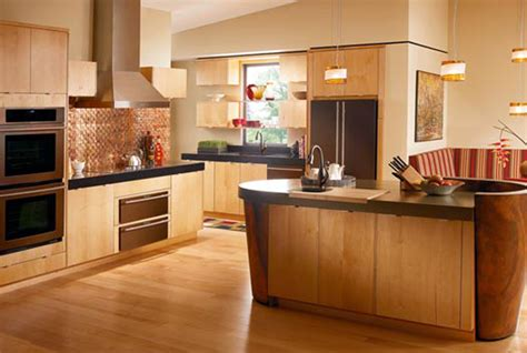 interior kitchen cabinets maple wood kitchen ideas pictures decosee
