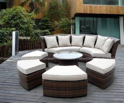 Ebay Outdoor Patio Furniture Outdoor Patio Wicker Furniture 7pc Set Ebay