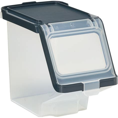 Storage Box With Lid plastic storage bin with lid in plastic storage bins