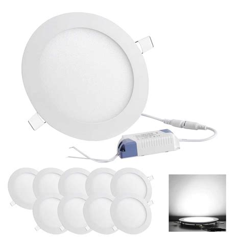 Led Recessed Ceiling Light 10 Led Recessed Ceiling Panel Light Bulb 3w 7w 9w 12w 15w 18w 22w 30w Ebay