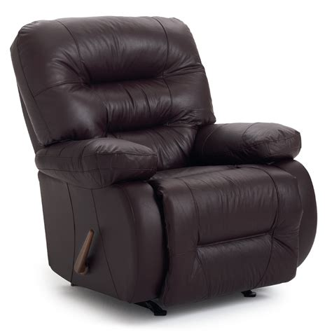 sears leather recliners best home furnishings maddox genuine leather space saver