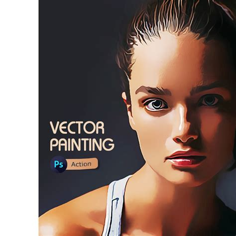 vector painting photoshop action  irmuundesign