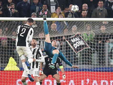 ronaldo juventus 2018 goal cristiano ronaldo lifts real madrid juventus the