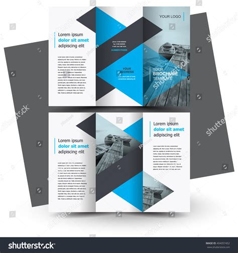 creative brochure design templates brochure design brochure template creative trifold stock