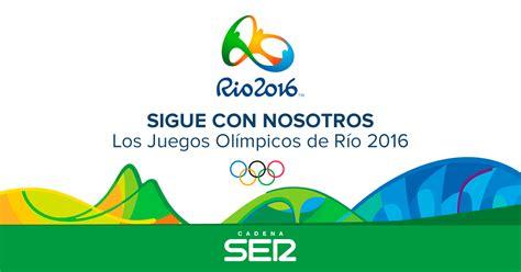 juegos olmpicos rio 2016 newhairstylesformen2014 com juegos ol 237 mpicos r 237 o 2016 cadena ser cadena ser