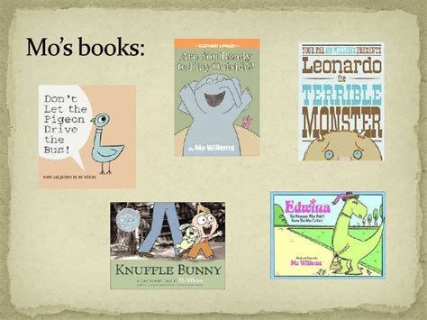 Trashionista Recommends Meet The Author by Meet The Author Mo Willems
