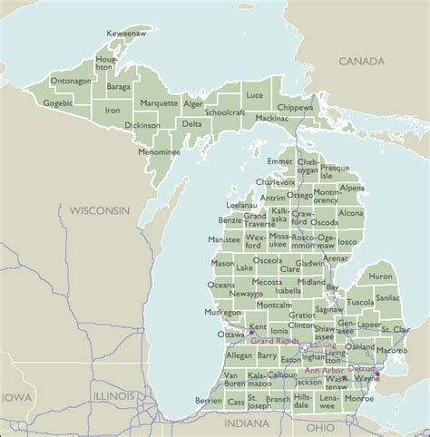 michigan zip code map county zip code maps of michigan