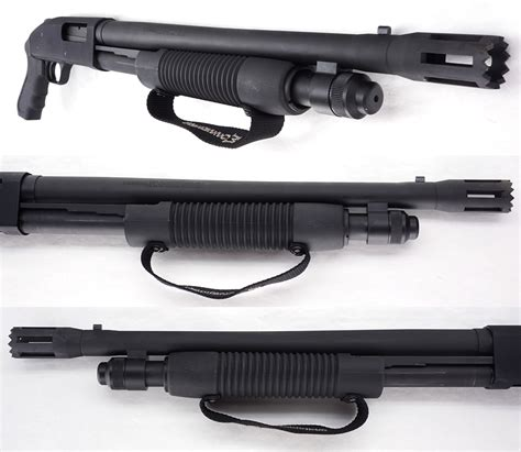 Shotgun Door Breacher by Mossberg 500 Persuader Door Breacher Pistol Grip 12 Ga