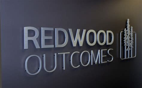 Business Letter Writing Sign reception and lobby signage permel custom signage vancouver