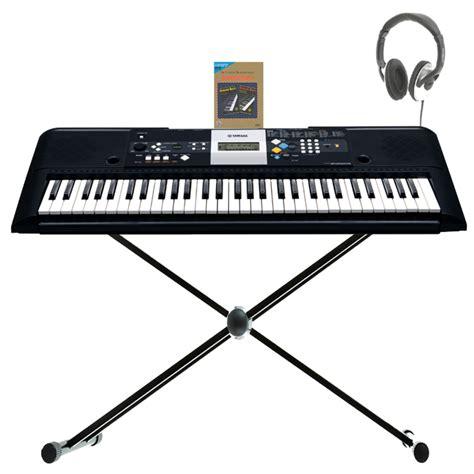 Keyboard Yamaha E223 disc yamaha psr e223 keyboard back to school pack at gear4music ie