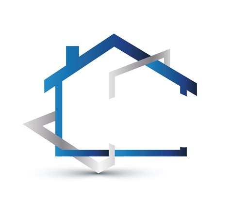 modern home design vector 00108 real estate logos design free house logo online 02