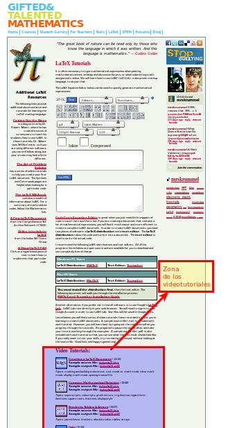 latex verbatim tutorial gambas mis programas y el softwarelibre videotutoriales