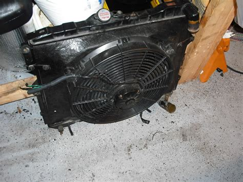 electric fan with shroud homemade radiator fan shroud homemade ftempo