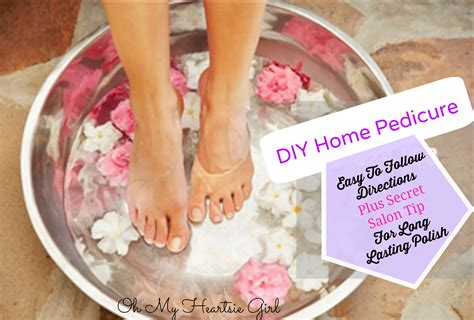 save money give yourself a salon quality pedicure at home