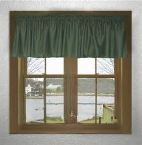 green window valance solid green color valance in many lengths custom size