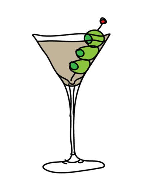 martini cartoon clip art b day party olive martini meylah