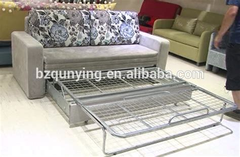 metal frame pull out sofa bed sofa bed metal frame replacement light brown microfiber