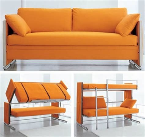 Folding Couch And Bunk Beds Just Plain Awesome Pinterest