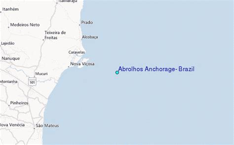 Anchorage Tide Table by Abrolhos Anchorage Brazil Tide Station Location Guide