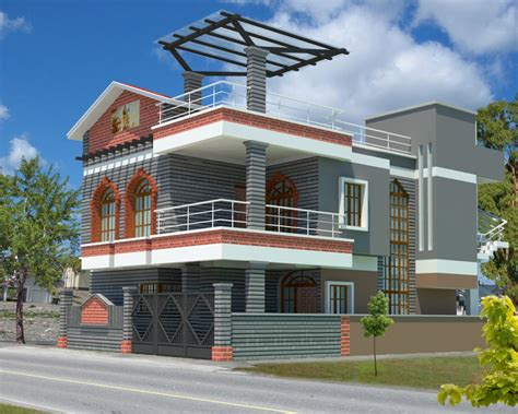 home exterior design wallpaper model bentuk atap rumah minimalis terbaru 2016
