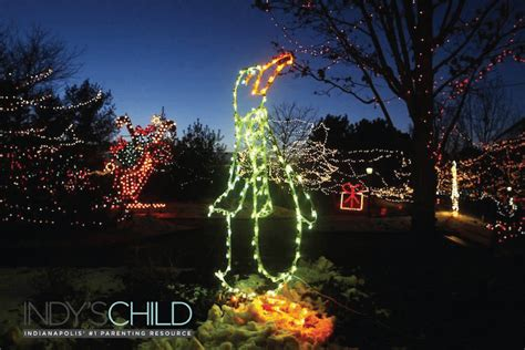 indianapolis zoo lights get into the spirit at at the