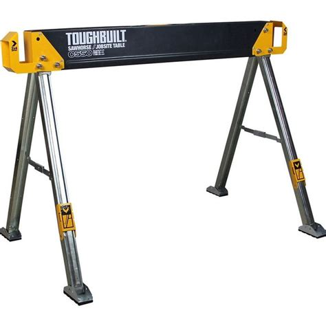 screwfix bench details about toughbuilt 41 5 in steel folding sawhorse