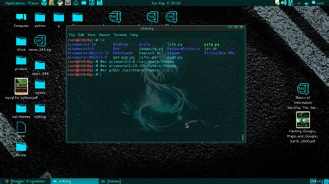 kali linux best themes how to install theme on kali linux programming linux