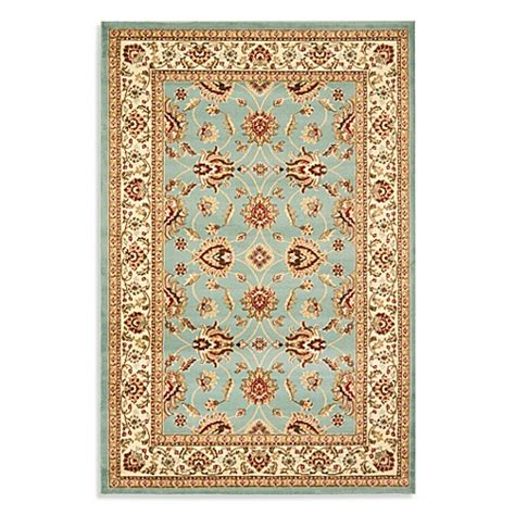 vanity bath rug safavieh vanity blue ivory rug bed bath beyond