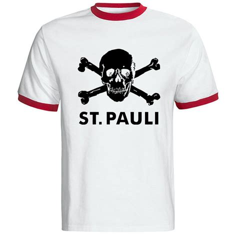Tshirt St Pauli 6 new summer t shirt fashion cotton st pauli t shirt