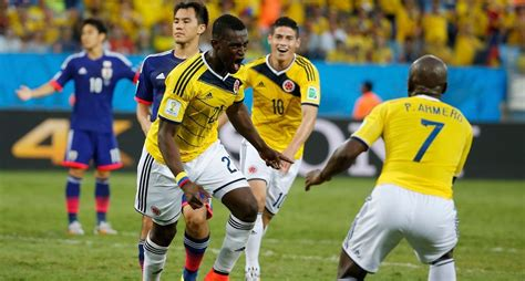 world cup colombia vs japan japan vs colombia 1 4 highlights all goals