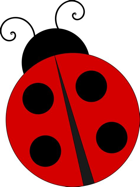 By Clipart clipart ladybug pencil and in color
