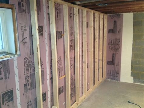 insulating concrete basement walls how to properly insulate a basement chace building