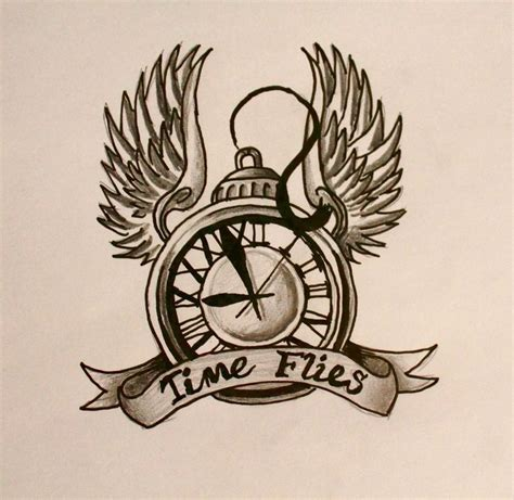 time flies tattoo best 25 time flies ideas on time heals