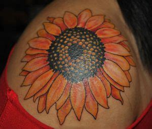 sunflower tattoo on shoulder tumblr sunflower shoulder tattoo designs ideas and meaning