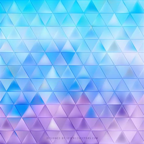 blue triangle pattern vector background blue purple triangle background pattern 123freevectors