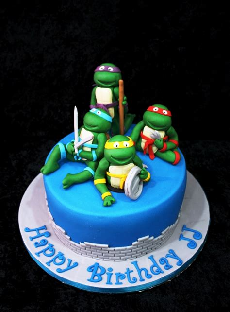 ninja turtle cakes decoration ideas  birthday cakes