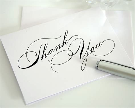Exle Of Graduation Thank You Card